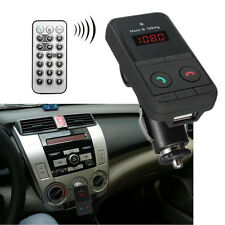 Wireless Bluetooth Car MP3 Player FM Radio Transmitter SD Card Remote Controller