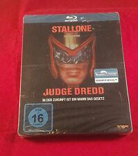Judge Dredd (Stallone) Blu Ray Limited Steelbook, Region free  extrem rare