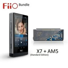 FiiO X7 Standard Edition Lossless (FLAC/MP3) DAP/DAC+AM5 Power Amp Module BUNDLE