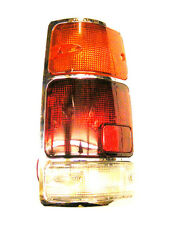 Isuzu D-Max Pickup TFS54 2.5 Rear Tail Lamp LH UPTO 11/1996 (CHROME BACKING)