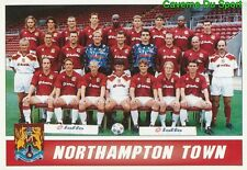 210 NORTHAMPTON TOWN SQUAD  3RD DIVISION STICKER 1ST DIVISION 1997 PANINI