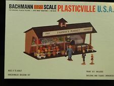 Bachmann 027 Scale Plasticville 1923 Roadside Stand with Paint Set [ Mint ]