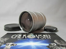 ANGENIEUX 1.8/10MM C-MOUNT LENS for BOLEX 16MM MOVIE CAMERA BEAUTIFUL COATING!