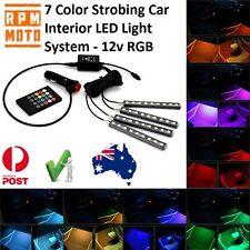 RPM-Moto 7 Color LED Car Interior R/Control Light Kit Mitsubishi Triton
