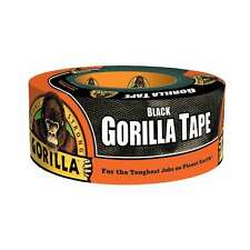 "Gorilla Duct Tape, 1.88"" x 12 yd., Black, New"