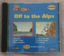 CD ROM PC GENIUS NO: 39 OFF TO THE ALPS