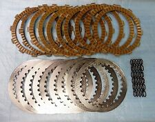 APE TRAC KING STEEL FRICTION FIBER HAYABUSA BUSA SPRINGS CLUTCH PLATES DRAGBIKE