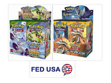 Roaring Skies Pokemon Booster Box + Sun & Moon Booster Box Pokemon Booster Packs