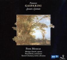 Gasparini / Zanetti - Sonate E Cantate [CD New]