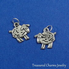 Silver SHEEP Farm Animal Lamb CHARM PENDANT