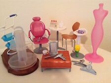 Barbie  Fashion Show Mall  furniture  shoe rack,  parts  accessories  lot