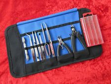 Craft Model Hobby Tools Kit Suit Warhammer & Airfix Modeller Tamiya & Case SET 6