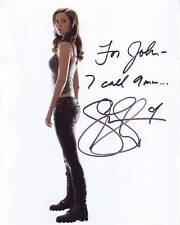 SUMMER GLAU Autographed Signed TERMINATOR Photograph - To John