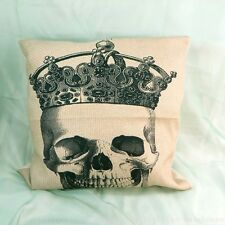 US Seller-outdoor cushion replacements Sugar skull Day of the Dead cushion cover