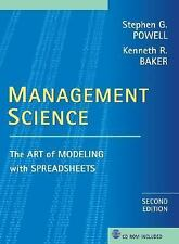 Management Science : The Art of Modeling with Spreadsheets by Kenneth R....