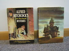 Lot of 2 Alfred Hitchcock's Mysteries 1963 1961 Illustrated Free Shipping