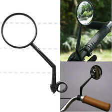 New Black For Handlebar Motorcycle Bicycle Side Rear View Mirror Rearview Mirror