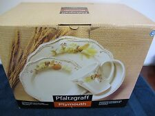 PFALTZGRAFF PLYMOUTH HARVEST HOLIDAY THANKSGIVING  DINNERWARE 16  PCS IN BOX