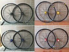 "Mavic 319 Rim 4 Color Modeng Hubs MTB Mountain Bike 26"" F&R Wheels Disc Wheelset"