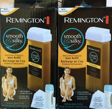 Lot Of 2 Remington Smooth & Silky Wax Refill Brazilian Formula