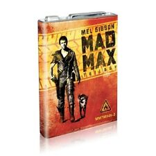 Mad Max Trilogy Collection Limited Petrol Gas Tin Can metal case blu-ray sealed