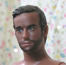 Nude Male 1:6 scale Doll Brown Hair Blue Eyes just deboxed for OOAK JCVD splits