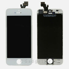 White LCD Screen Display + Touch Screen Digitizer + Frame Assembly for Iphone 5