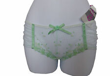 New Cleo by Panache George short briefs / Knickers 5134 (Size 8) Green BNWT