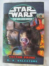 Star Wars: The New Jedi Order: Vector Prime by R. A. Salvatore 1999 Hardcover
