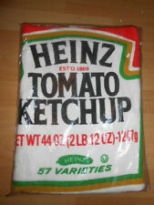 Vtg NOS 1970's HEINZ KETCHUP Bottle POP ART Beach TOWEL ADVERTISING Unused!