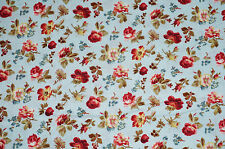 Penelope Cotton Fabric Petite Rose  Lake House Dry Goods  BFab HH
