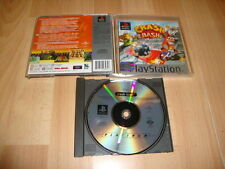 CRASH BASH JUEGO DEL CRASH BANDICOOT PARA LA SONY PS1 USADO CON MANUAL