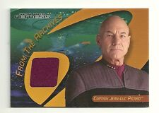 Star Trek 40th Anniversy Captain Picard Costume Card C33A Rewards Redemption