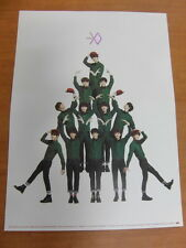 EXO - MIRACLES IN DECEMBER (KOREAN VER.) [OFFICIAL] POSTER K-POP EXO-K EXO-M