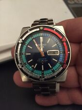 Vintage Large Seiko 5 Sports Divers 6119-6053 Rally 70M Water Resist Japan