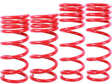 "RED Lowering Springs fit 03-08 Nissan 350Z Infiniti G35 2dr Approx. 1.25"" Drop"
