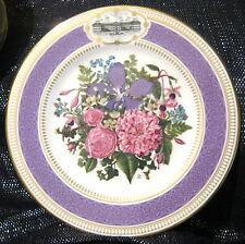 Great Royal Horticultural Society Chelsea Flower Show Plate 1990.  Royal Albert