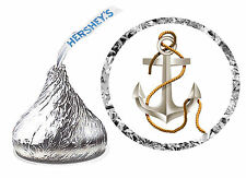 216 ANCHOR BOATING CRUISE BIRTHDAY PARTY FAVORS HERSHEY KISS LABELS