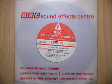 "BBC Sound Effects 7"" Record - Post Office Telephones (GPO), 1967"
