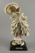 Capodimonte Bruno Merli Figurine Lady with Parasol MINT WorldWide