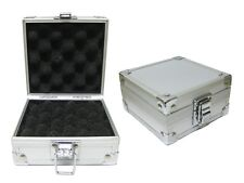 ALUMINUM SINGLE TATTOO MACHINE CASE Egg Shell Foam Carrying Box Supply Travel