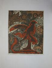 Hildegard Kremper-Fackner 1933 Timisoara - 2004 B. heimweh kranke Vogel (PlaHü)