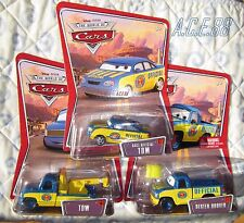 Disney Pixar Cars Race Official Tom Dexter Hoover Yellow Flag Tow Truck Diecast
