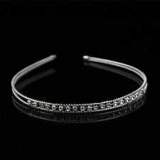 New Women Girl Lady Fashion Metal Crystal Headband Head Piece Hair Band Jewelry