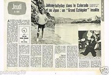 Coupure de presse Clipping 1978 (2 pages) Johnny Hallyday