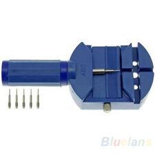 B22U Watch Band Link Remover Bracelet Strap Adjuster Repairing Tool+5 Extra Pins
