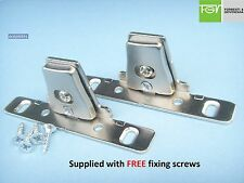 Kitchen Drawer Front Fixing Brackets used by Howdens /MFI /Ikea / B&Q/ Wren etc