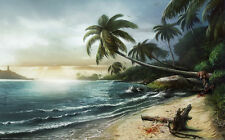 """Dead Island Zombie FPS Game Wall Poster 40""""x24""""  D10"""