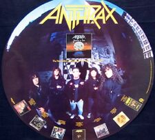 ANTHRAX, PERSISTENCE OF TIME CIRCULAR POSTER (A2)