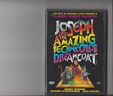 JOSEPH AND THE AMAZING TECHNICOLOUR DREAMCOAT DVD MUSICAL DONNY OSMOND